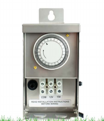 Westgate Dual Tap (12V/15V AC) Landscape Transformer With Timer & Photo Cell - Beverly Lighting