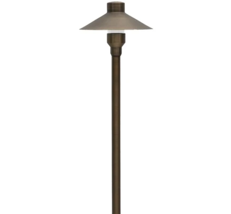 ABBA Lighting PLB03 Heavy Duty Cast Brass Path Light - Beverly Lighting