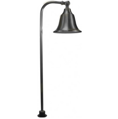 Orbit 20W Solid Brass Path Light - Beverly Lighting