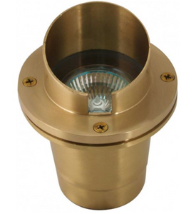 Orbit 35W B5011 MR16 Hooded Well Light- Brass - Beverly Lighting