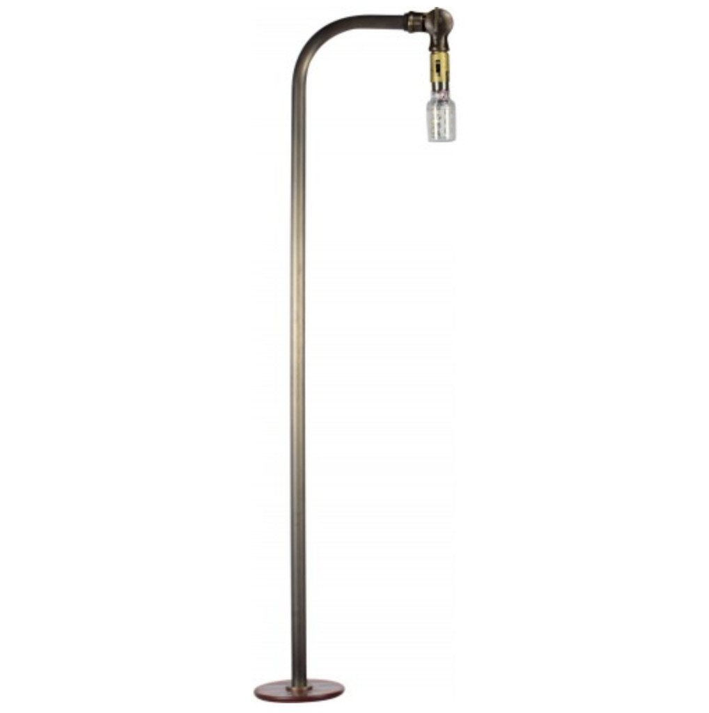 Orbit LB28S LED Solid Brass 90 Degree 12V Path Light - Beverly Lighting