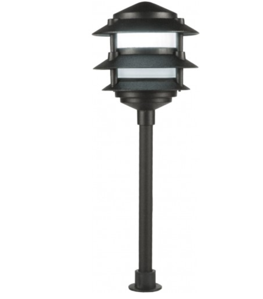 Orbit L2030 LED 3-Tier Aluminum 12V Pagoda Light - Beverly Lighting