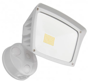 Westgate 28W White LED Security Light With Optional Motion Sensor or Photocell 120V - Beverly Lighting