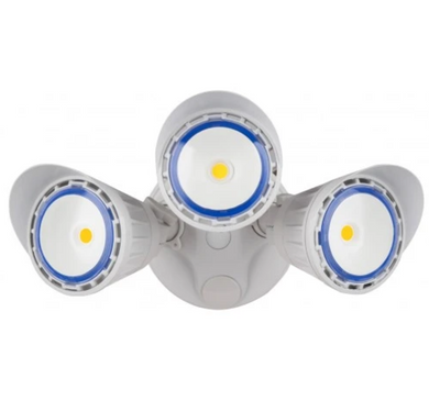 Westgate 30W White LED Security Light With Optional Motion Sensor or Photocell 120V - Beverly Lighting