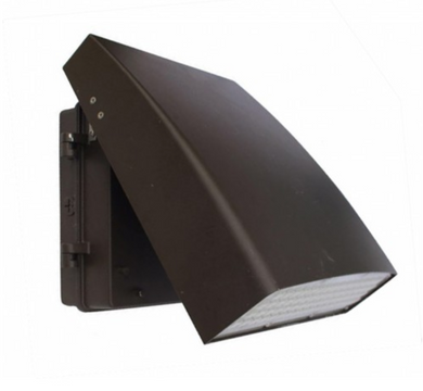 Orbit LED Aluminum 30W 5000K Slim & Adjustable Bronze Wallpack - Beverly Lighting