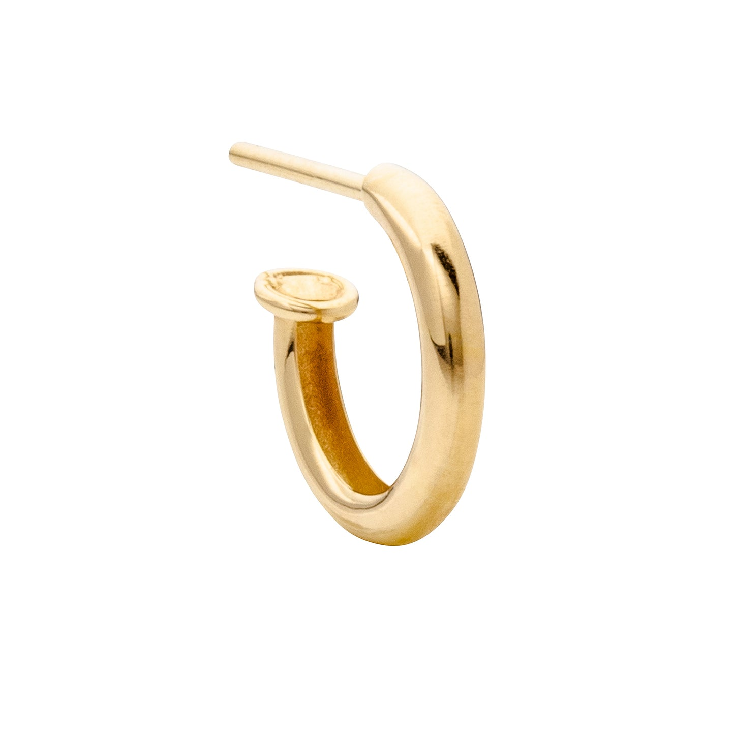 Aynur Abbott - E#44 Gold Hoop medium earring