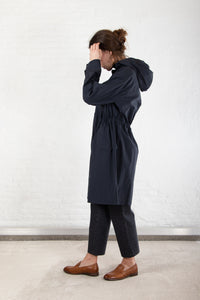 APC - Hockney - coat - dark navy