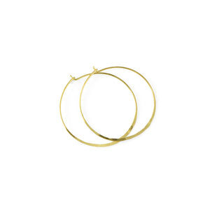 Martine Viergever - Earring - Life medium - gold