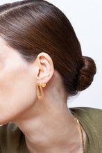 Load image into Gallery viewer, Martine Viergever - Earring - OO Romeo - silver