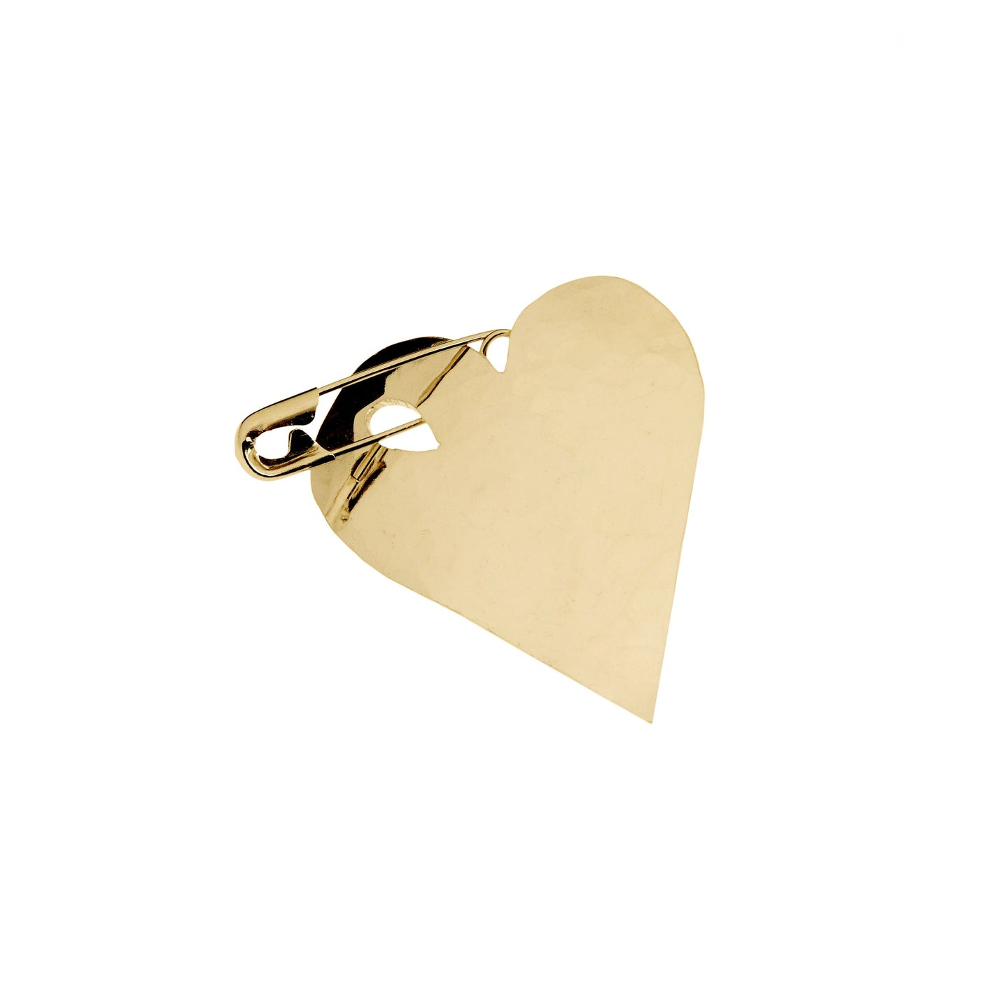 Wouters & Hendrix - PSC00100 - brooch heart - gold
