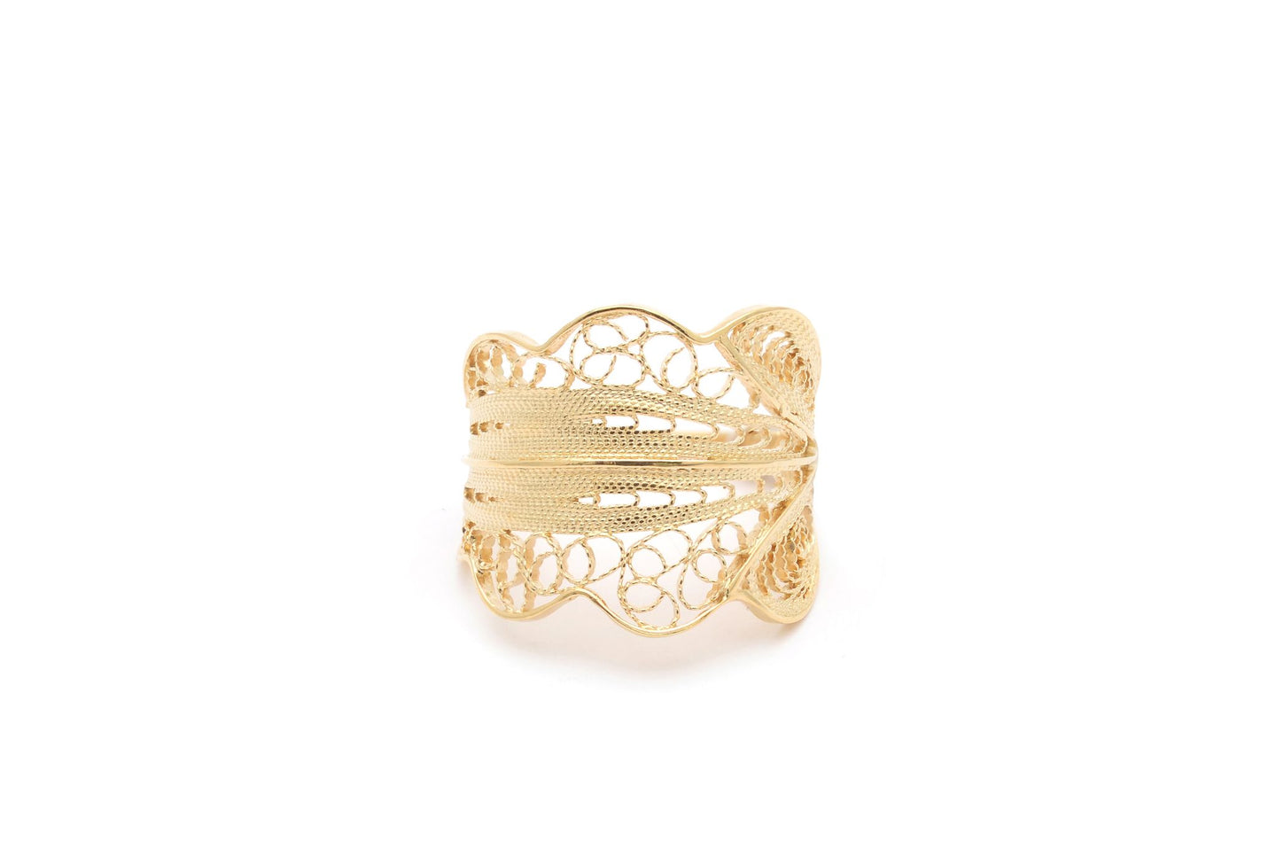 Wouters & Hendrix - RRC019 - filigree ring - gold