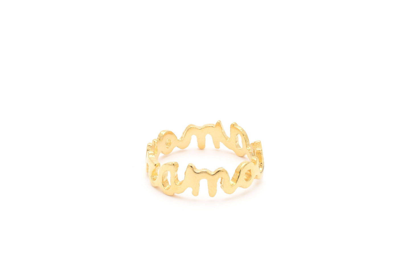 Wouters & Hendrix - RSC022 - amour ring - gold