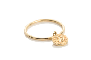 Aynur Abbott - R#24 Gold coin ring