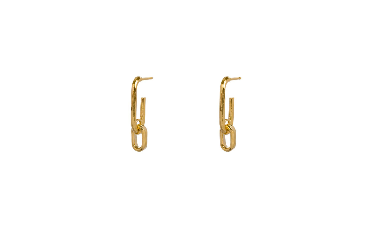 Wouters & Hendrix - ERE00300 - chain earring - gold