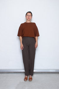 Delikatessen - Trouser D255/18B - brown
