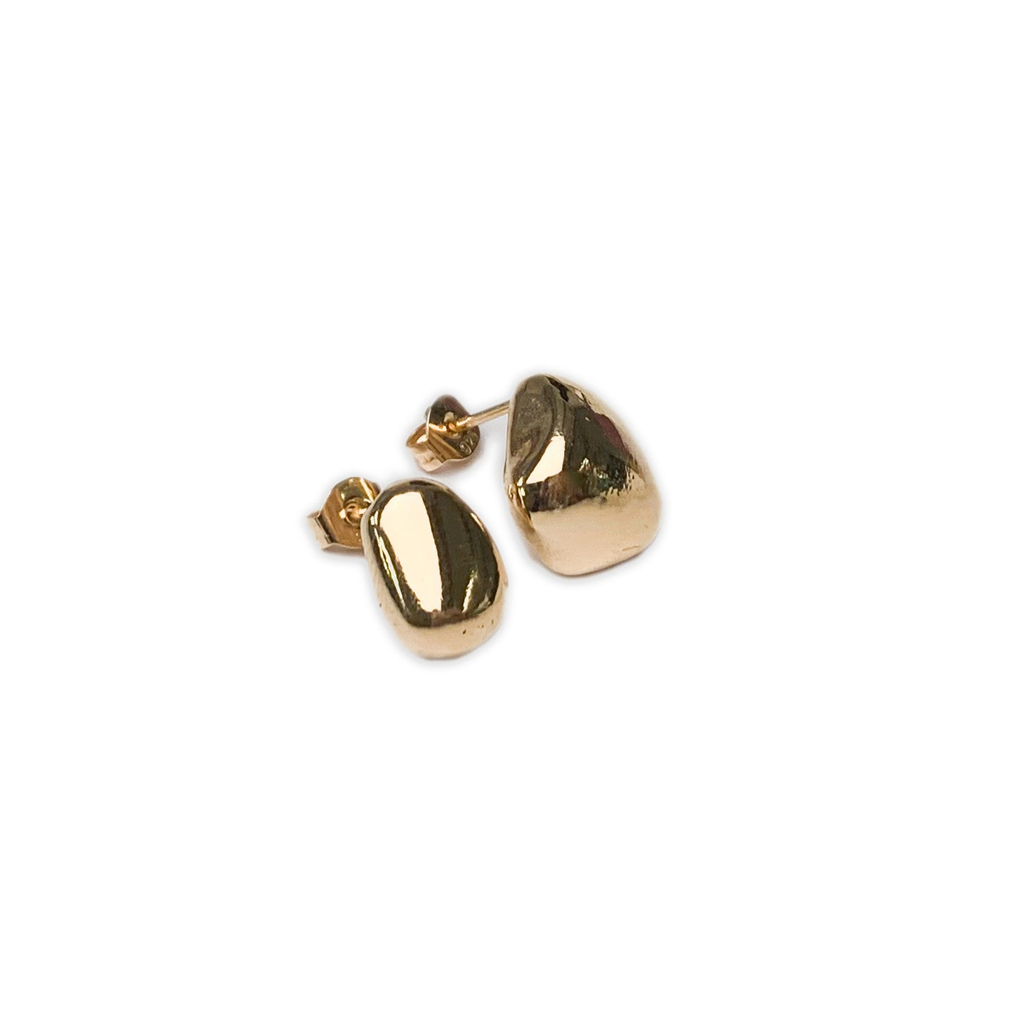 Martine Viergever - Earring - Rolling stones - gold
