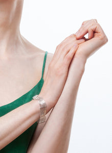 Martine Viergever - Bracelet - The Ritz - silver