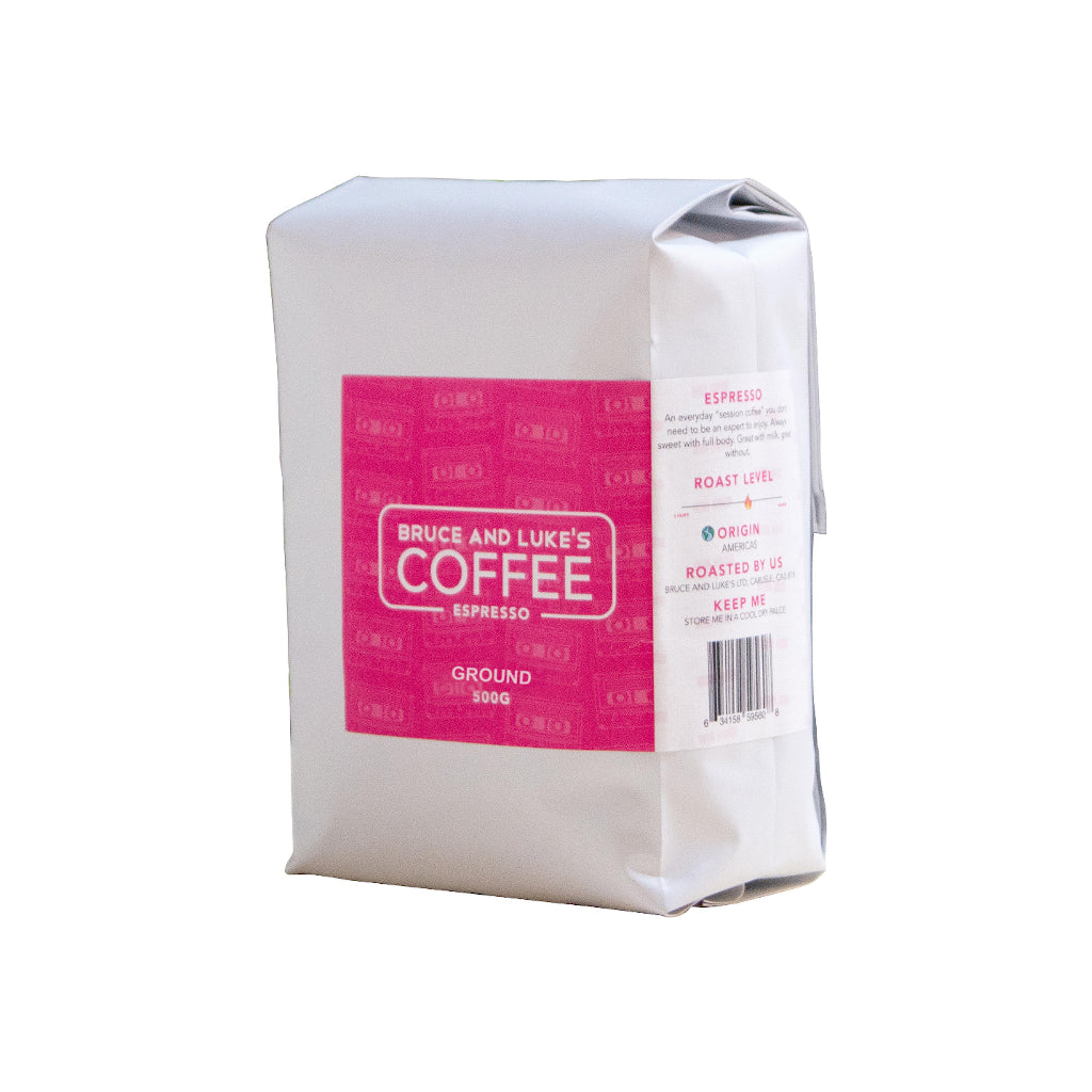 Bruce & Luke's Espresso Blend (500g Ground)