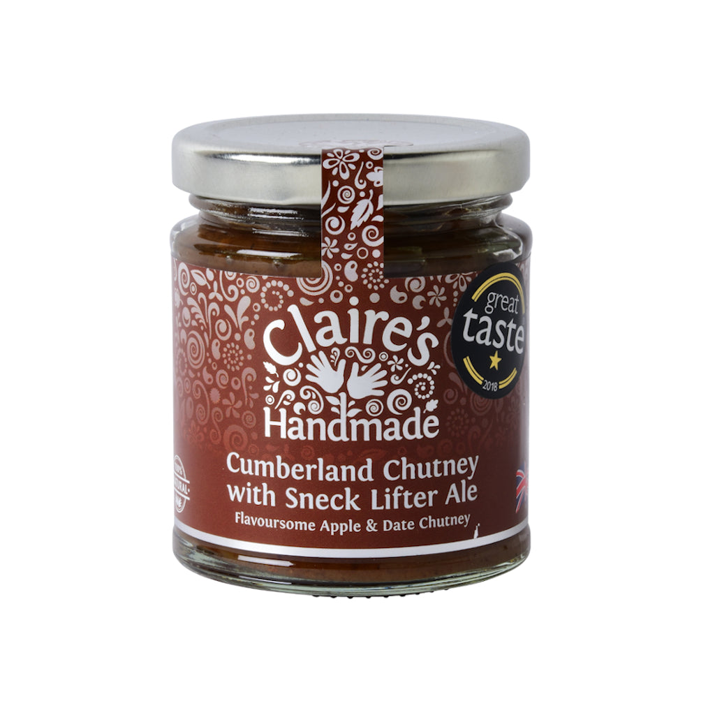 Claire's Handmade - Cumberland Chutney with Sneck Lifter Ale (200g)