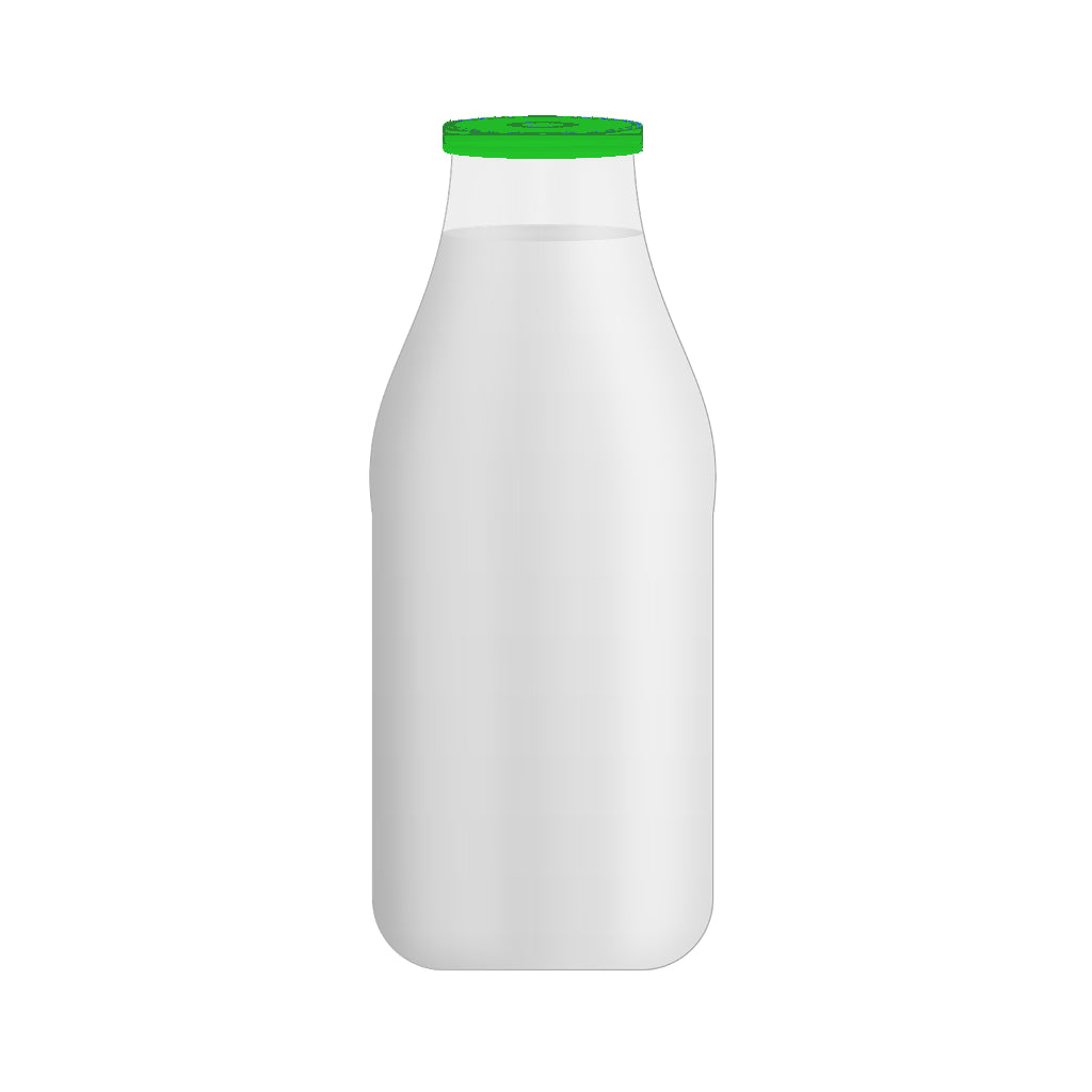 Semi-Skimmed Milk (1 Pint - Glass Bottle) - Christmas Delivery