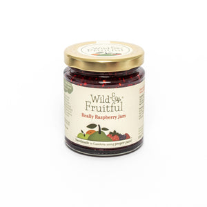 Wild and Fruitful - Really Raspberry Jam (227g) - Christmas Delivery