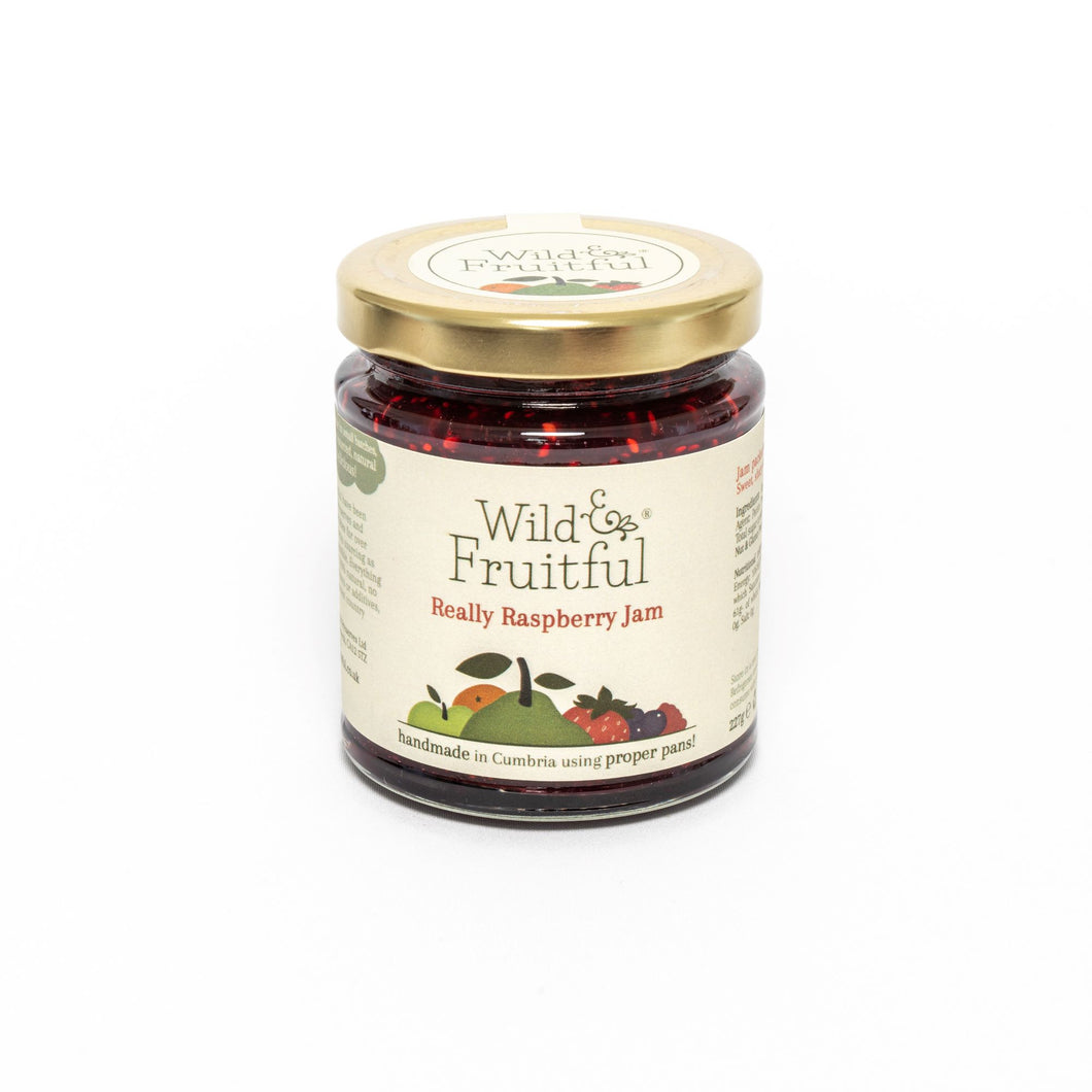 Wild and Fruitful - Really Raspberry Jam (227g)