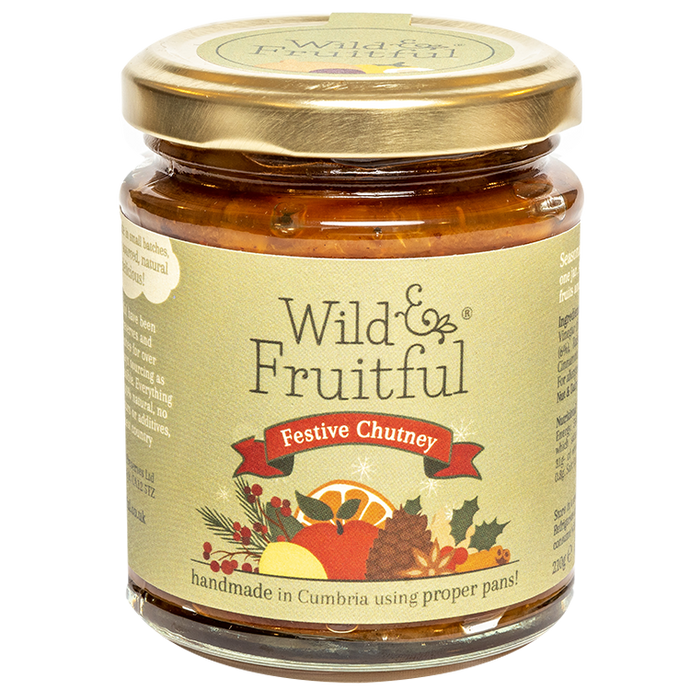 Wild and Fruitful (210g) - Festive Chutney - Christmas Delivery