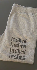 Gray 'LASHES' Sweats