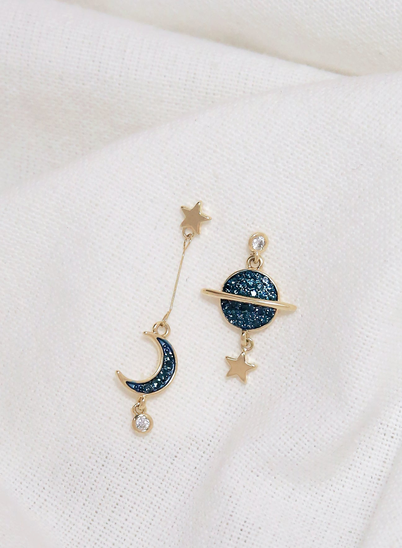 Midnight Cosmic Earrings