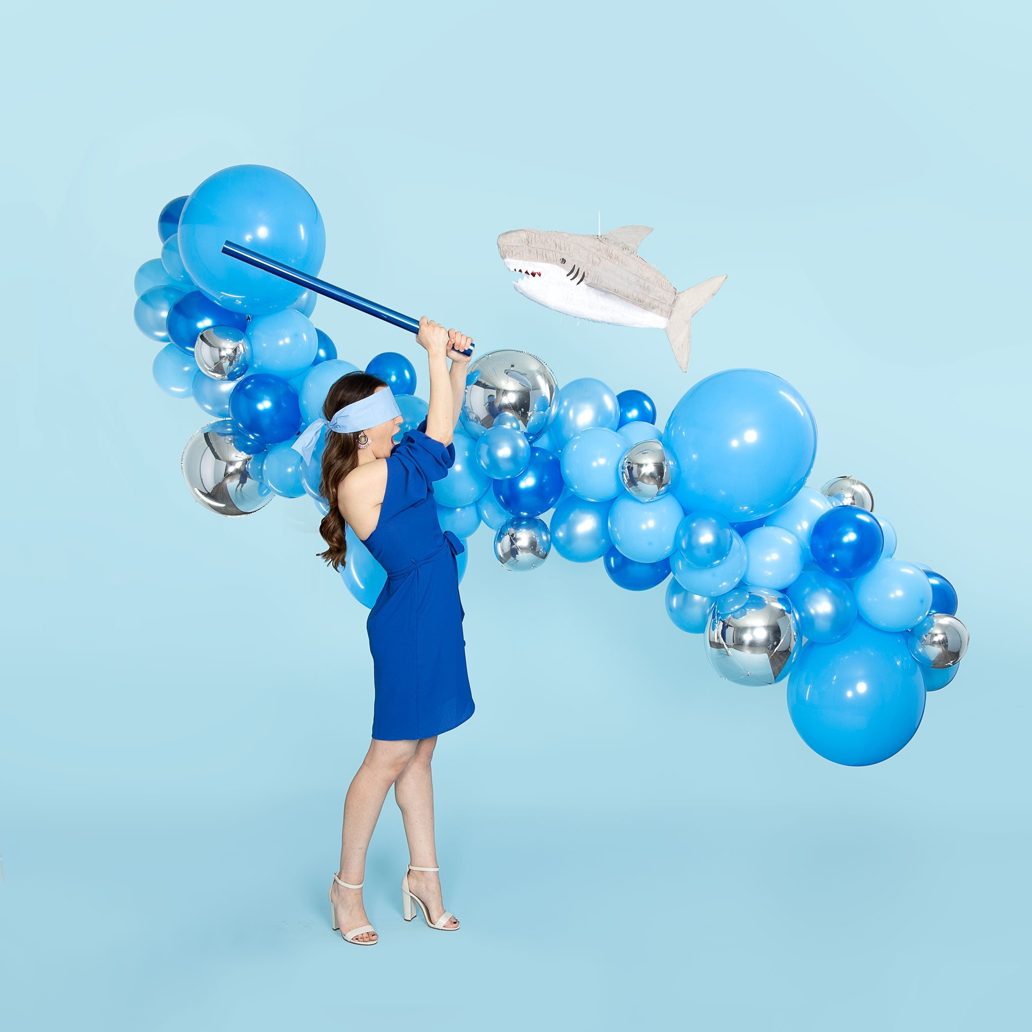 Rsvp Blue Balloon Garland Arch Kit Shop Now Rsvp Balloons