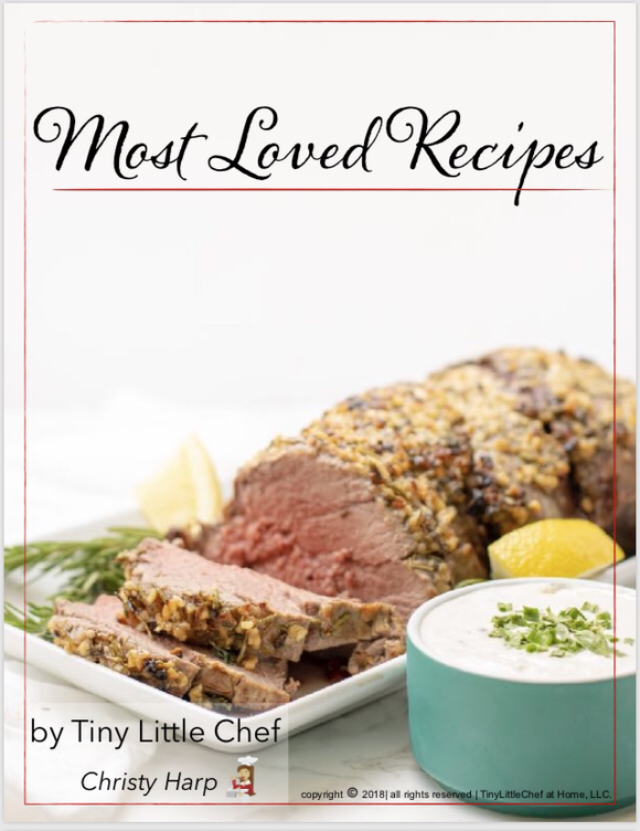 Printed Copy - Most Loved Recipes Cookbook