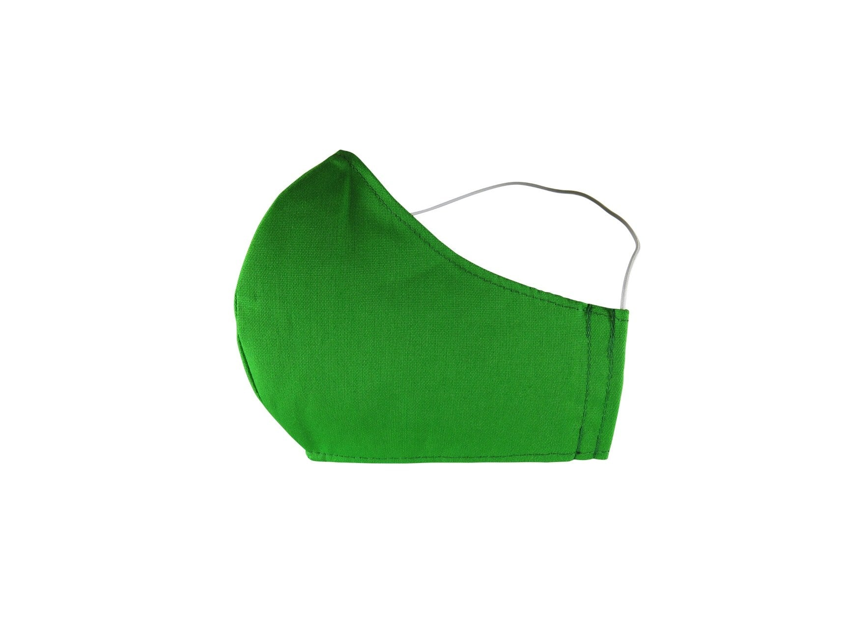 Plain Reusable Fabric Face Mask - Apple