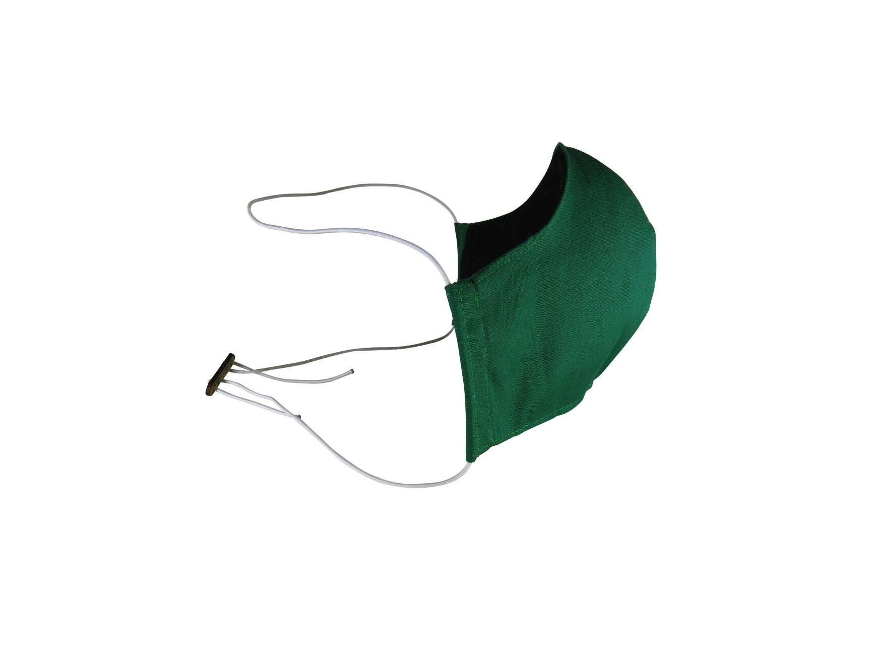 Plain Reusable Fabric Face Mask - Emerald