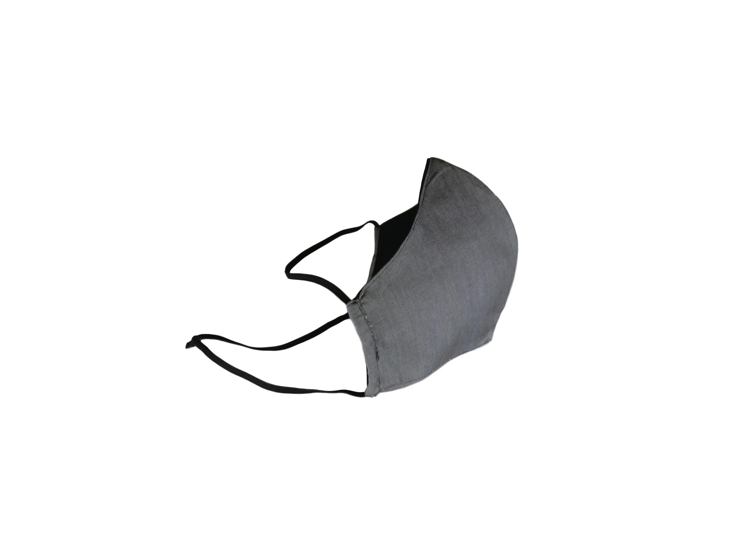 Reusable Fabric Face Masks - Grey
