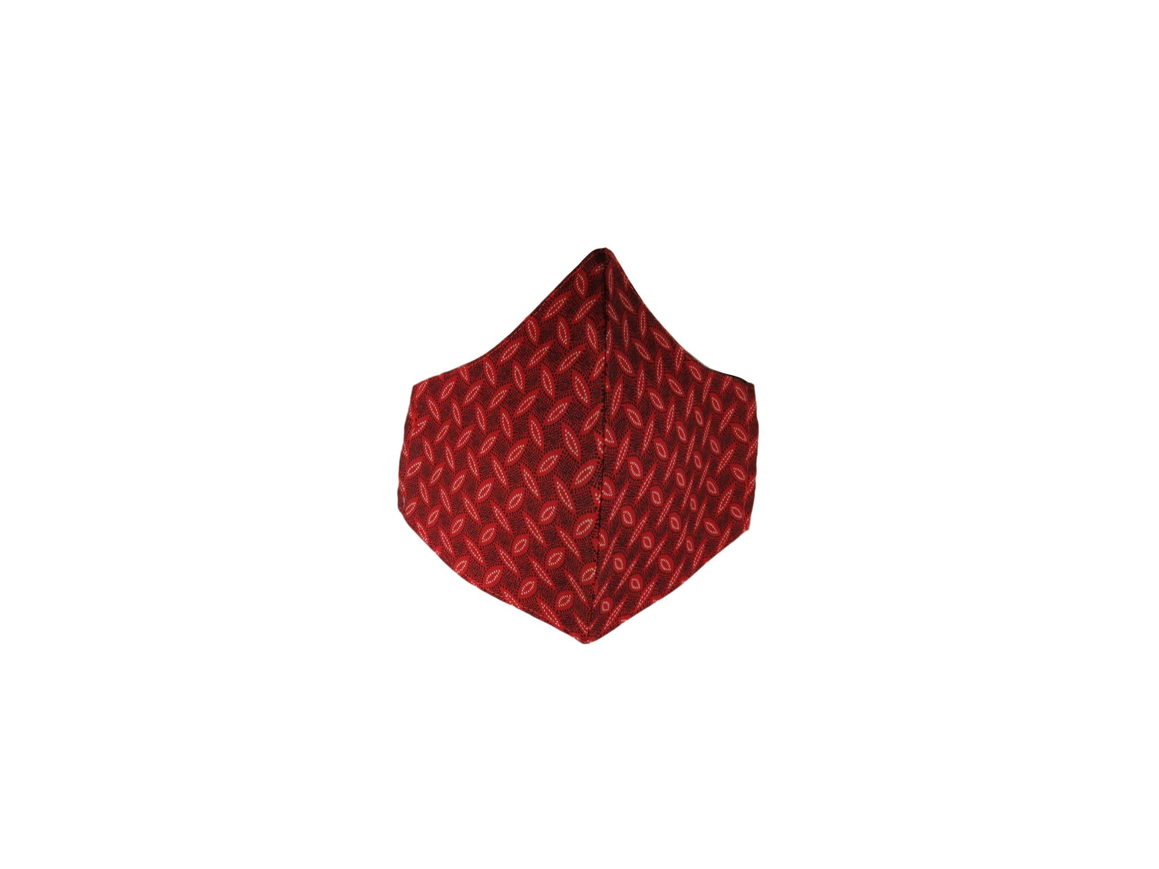 ShweShwe Reusable Fabric Face Masks -Red Patterns