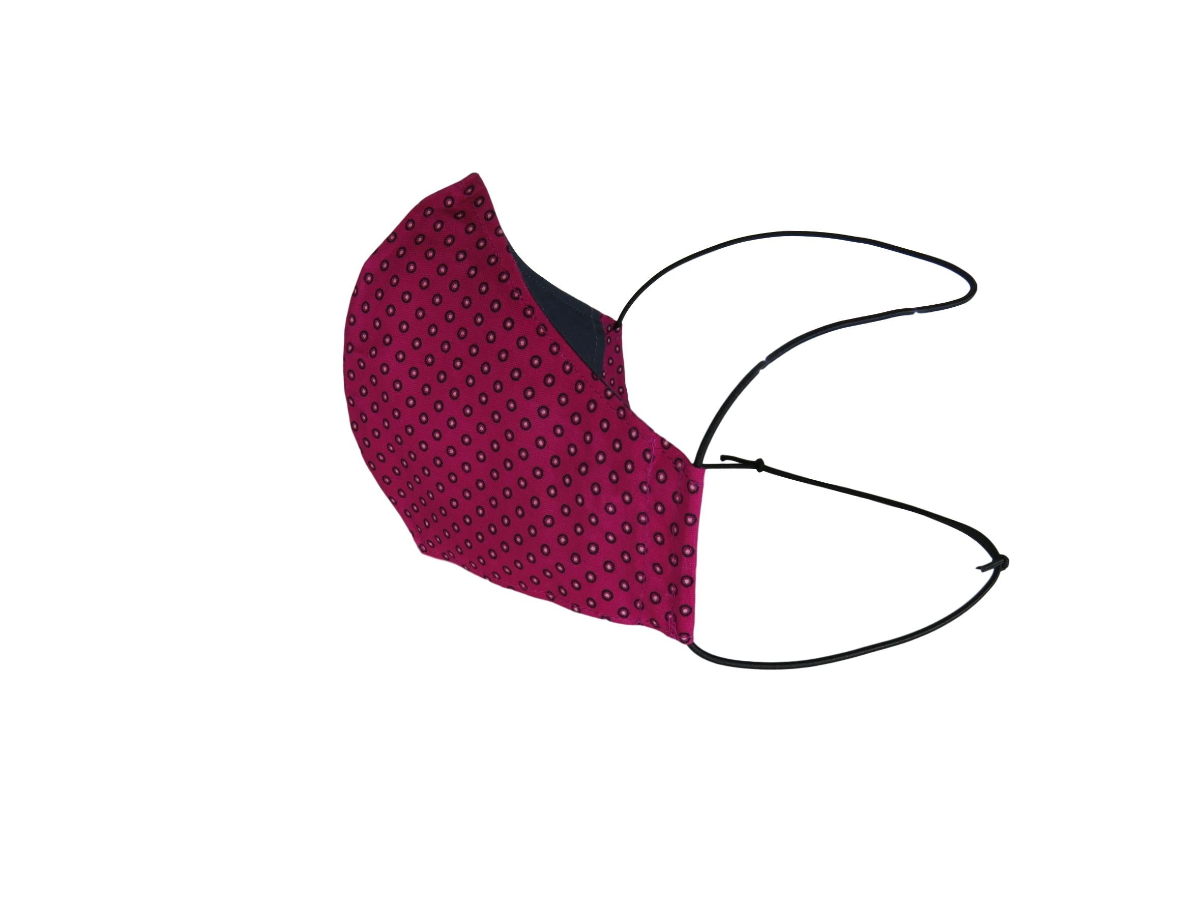 ShweShwe Reusable Fabric Face Masks -Purple & Pink Patterns