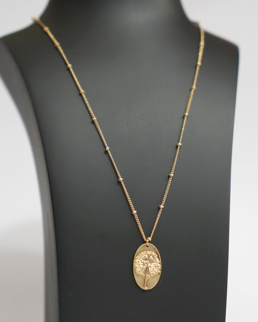 Clare Gold Necklace