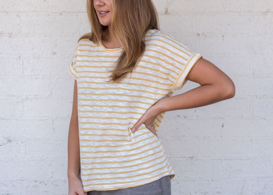 Chloe T-shirt Yellow