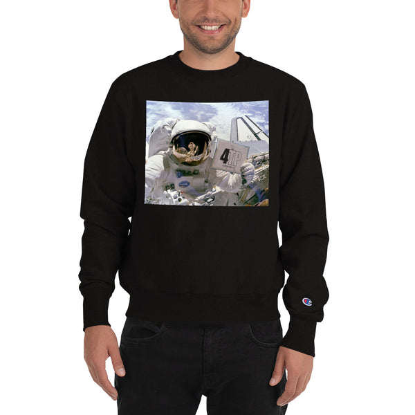 Mens Astronaut Champion Sweatshirt