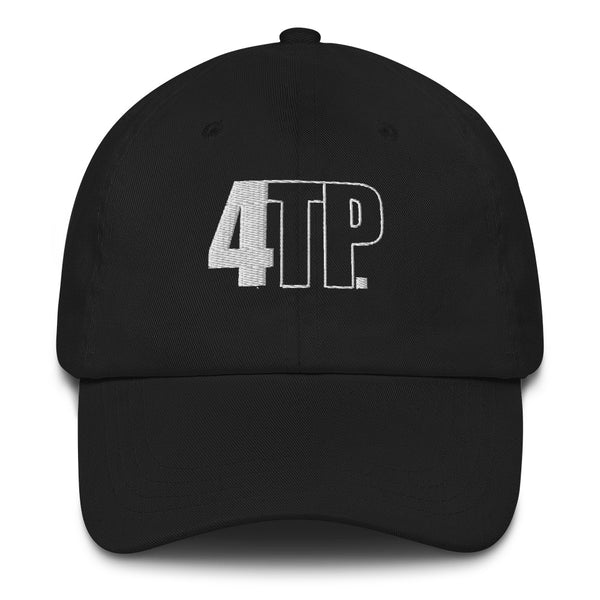4TP Black Dad hat