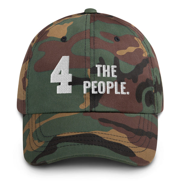 4 The People Camo Dad hat