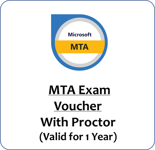 MTA Exam Voucher with Proctor