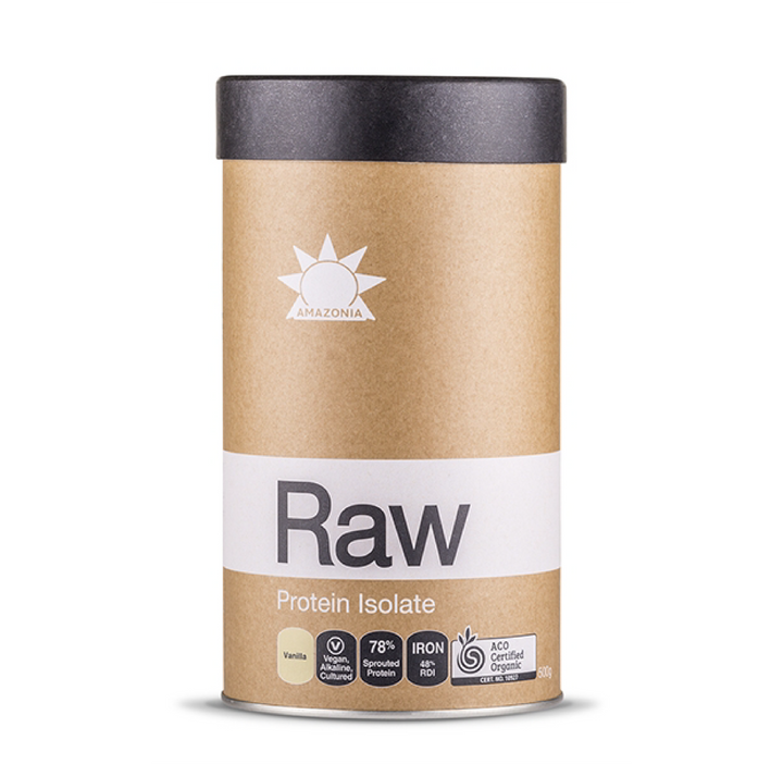 Protein Isolate Vainilla x 500 gr. -RAW-