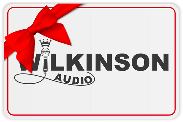 Wilkinson Audio Gift Card - Wilkinson Audio