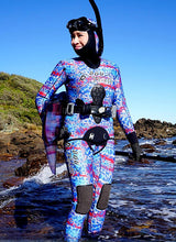 Load image into Gallery viewer, Catshark Blue 5mm Wetsuit