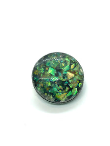 Opalescent Blue-Green Regular 20mm Size Snap