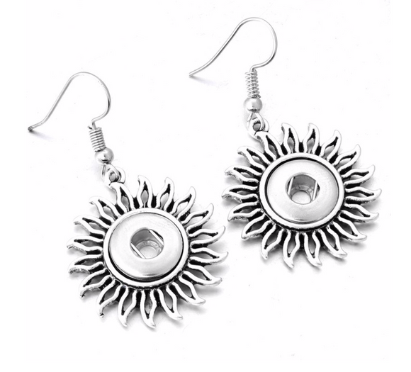 Sunshine Mini-Snap Earrings