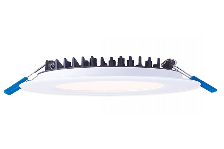 "Lotus 4"" Round LED 12W Slim - tinylifesupply.com"