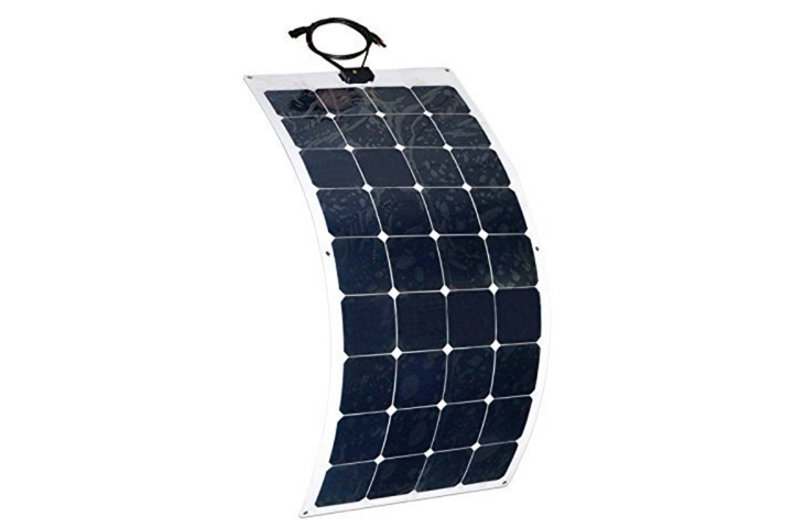 Aleko 100W Semi Flexible 12V Solar Panel - tinylifesupply.com