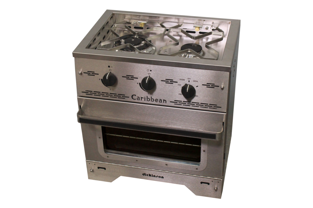 Dickinson Caribbean Two Burner Gas Stove - tinylifesupply.com